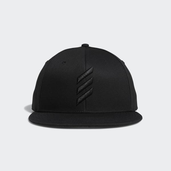 2ebe6bcc45e adidas Adicross Flat-Brim Cap - Black
