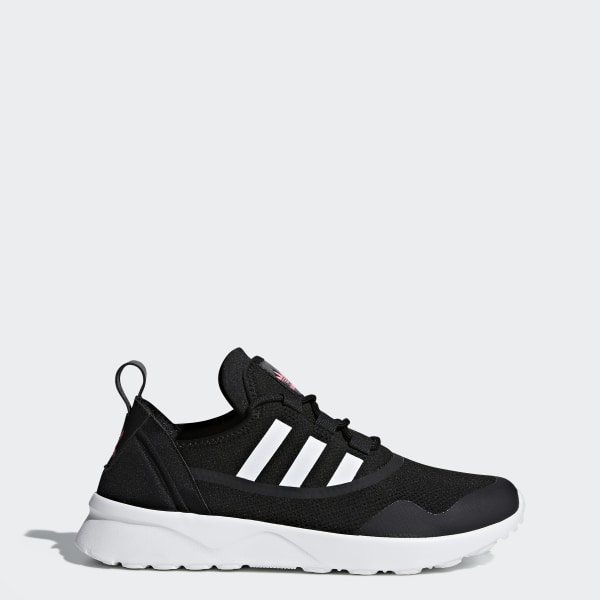 new style 7e80e 96585 Tenis ZX Flux ADV Virtue CORE BLACK FTWR WHITE ULTRA POP S12 CG4090