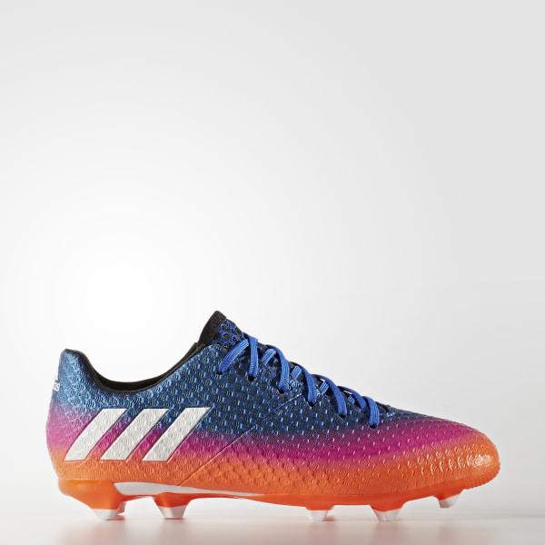 finest selection b696d 2a19c Calzado Messi 16.1 terreno firme BLUE FTWR WHITE SOLAR ORANGE BA9143