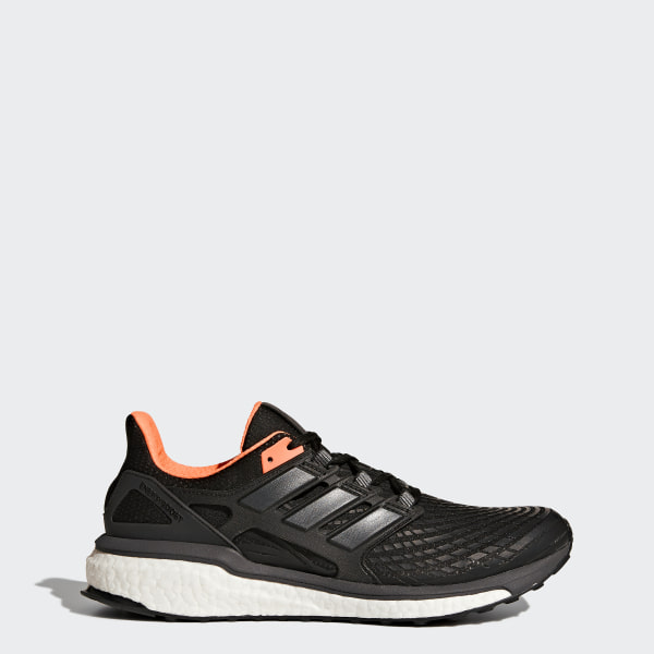 timeless design cefc7 3306e Energy Boost Shoes Core Black  Utility Black  Solar Orange BB3452