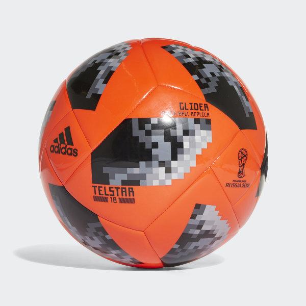 FIFA World Cup Glider Ball SOLRED BLACK SILVMT CE8098 0d7aea9f1d54b
