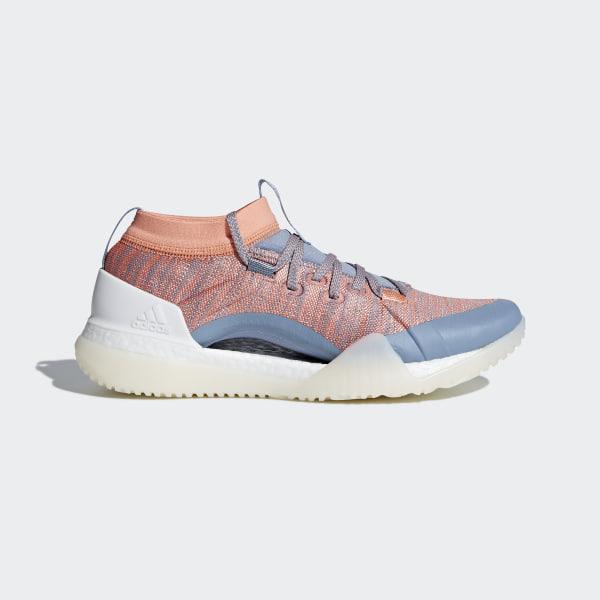buy popular a0bee 20ae6 Zapatilla Pureboost X TR 3.0 Chalk Coral Raw Grey Crystal White CG3526
