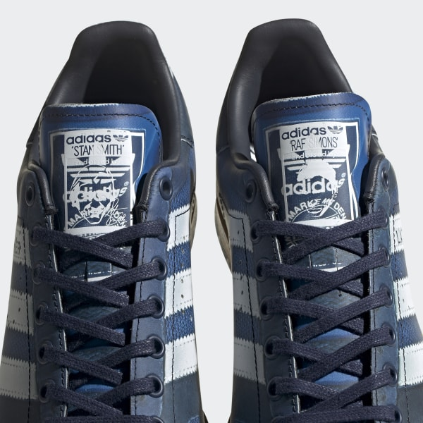 487559ae0d6 RS LA Trainer Stan Smith Shoes Legend Ink   Silver Met.   Night Navy EE7951