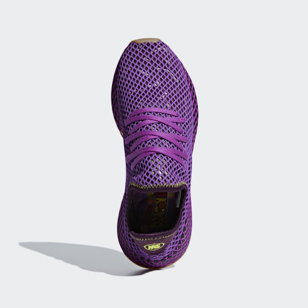 224133deccd84 Dragonball Z Deerupt Runner Shoes Shock Purple   Red Night   Shock Yellow  D97052