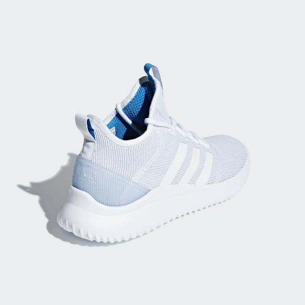 c50f132538be Cloudfoam Ultimate B-Ball Shoes Ftwr White   Ftwr White   Bright Blue B43854