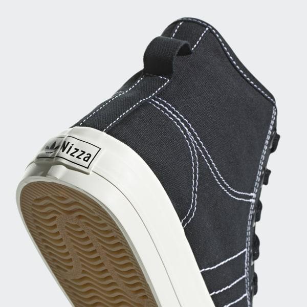 sale retailer 8273b fe6fe Scarpe Nizza RF Hi Core Black   Ftwr White   Off White F34057