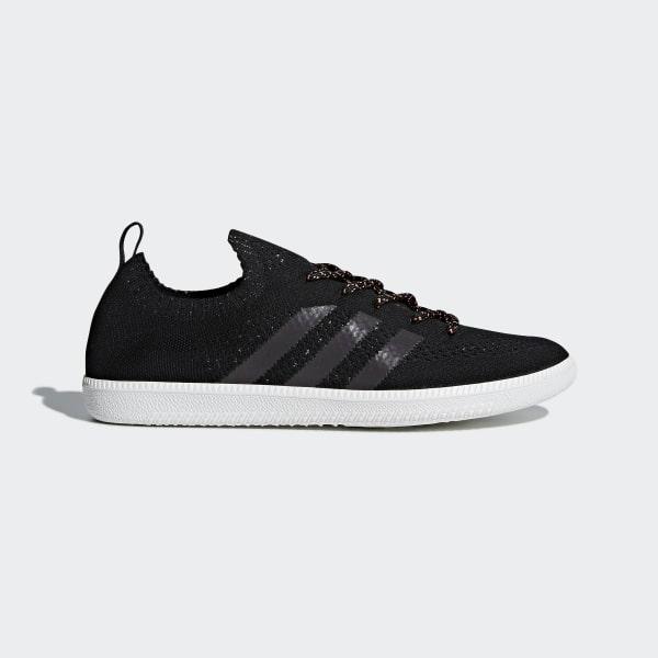 51b914de625dc5 Samba Sock Primeknit Shoes Core Black Crystal White Blue B41551
