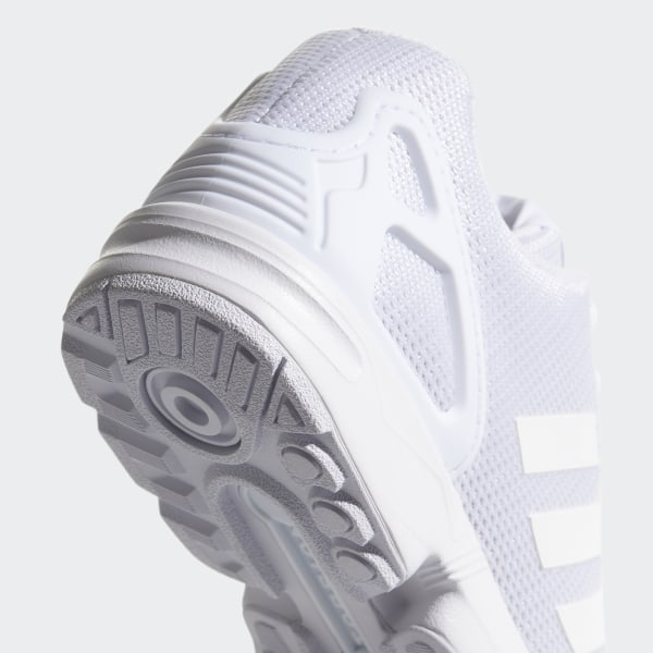 reputable site 12bc6 044cd ZX Flux Shoes Footwear White Clear Grey S32277