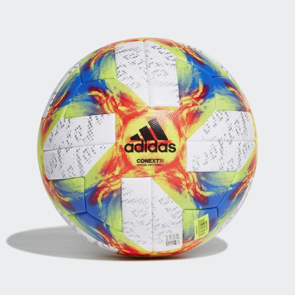 00b00e793b9ac Conext 19 Women s World Cup Official Match Football White   Solar Yellow    Black   Football