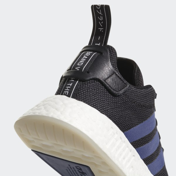 77bd046105694 NMD R2 Shoes Core Black   Noble Indigo   Ftwr White CQ2008