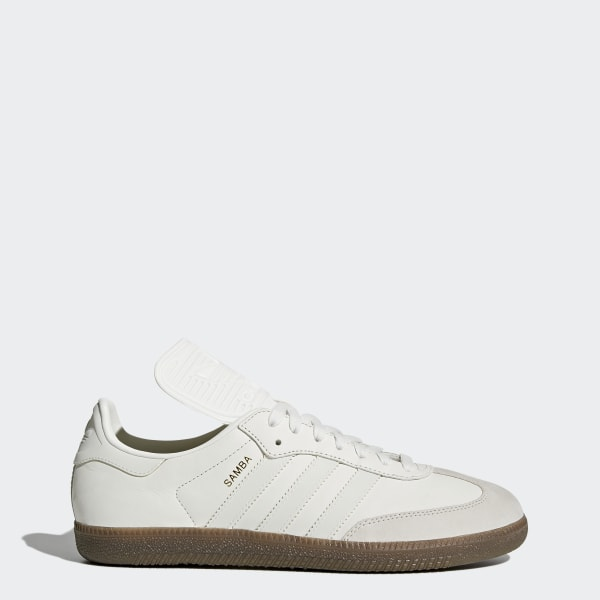 new product 36bdb 2dc1a Samba Classic OG Shoes Vintage White Reflective Pearl Grey BZ0226