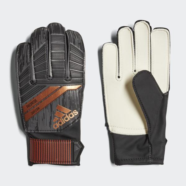 b0014981cc2 Predator 18 Pro Junior Gloves Black   Solar Red   Copper Gold DN5625