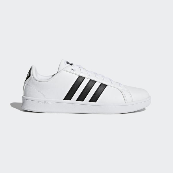 timeless design 8658f 96b42 Cloudfoam Advantage Shoes Ftwr White Core Black Ftwr White AW4294