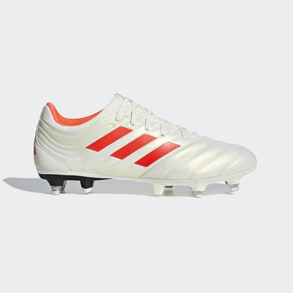 b3777e83c945d Scarpe da calcio Copa 19.3 Soft Ground Off White   Solar Red   Core Black  G26974