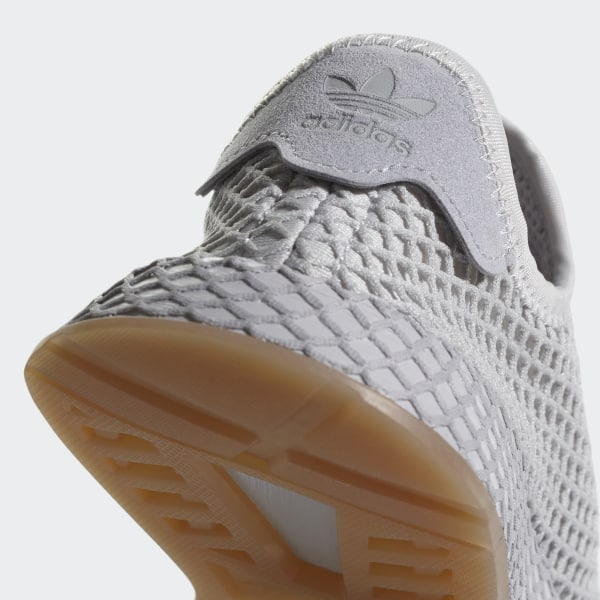 5decf6c76fc1a Deerupt Runner Shoes Grey One   Light Solid Grey   Gum CQ2936