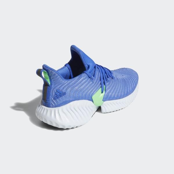 size 40 1584e 7b7f0 Alphabounce Instinct Shoes Hi-Res Blue  Aero Blue  Shock Lime CG5516
