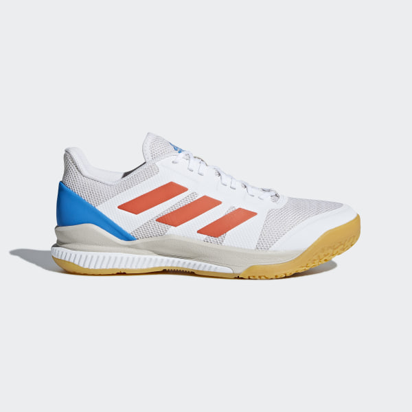 release date: 7914b 24aad Stabil Bounce Shoes. € 99,95. Color  Ftwr White   Solar Red   Bright Blue