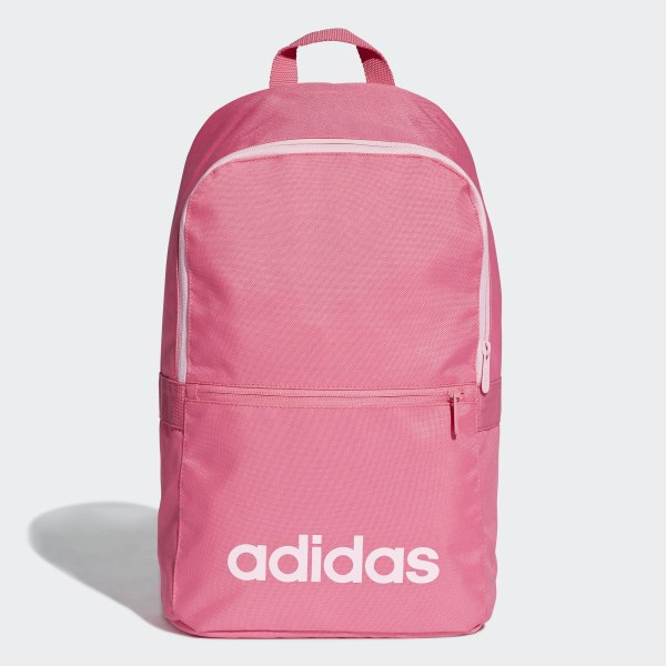57d21447d179 Linear Classic Daily Backpack Semi Solar Pink   Lgh Solid Grey   True Pink  DT8635