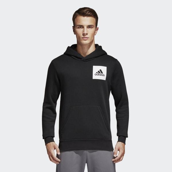 adidas essential hoodie black