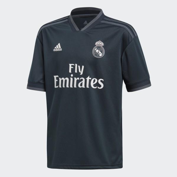 8440613a5b5b9 Camiseta de Visitante Real Madrid 2018 TECH ONIX BOLD ONIX WHITE CG0570