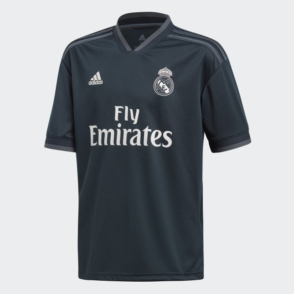Camisola Alternativa do Real Madrid Tech Onix   Bold Onix   White CG0570 f28630047aac1
