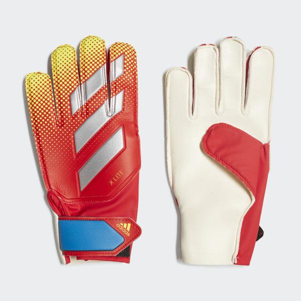 c42b181f91 Luvas X Lite Active Red   Solar Yellow   Football Blue DN8537