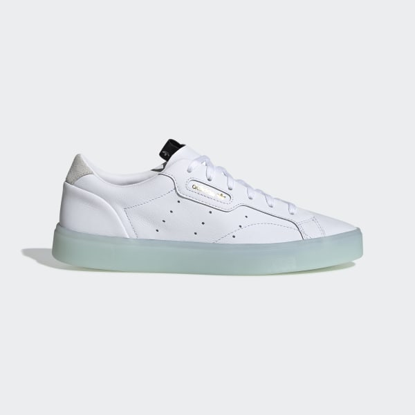 7e02c3c55ea adidas Sleek Shoes Ftwr White   Ftwr White   Ice Mint G27342