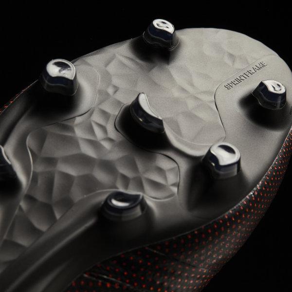 Botines de fútbol X 17 + PURESPEED Suelo Firme CORE BLACK SOLAR RED SOLAR abe60288f3f25