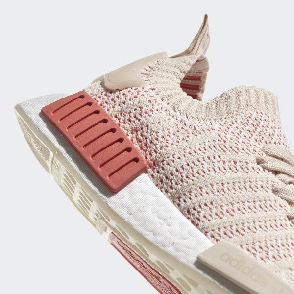 8979c4e0ce11a NMD R1 STLT Primeknit Shoes Linen Crystal White Ftwr White CQ2030