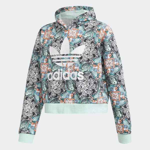 Zoo Hoodie Multicolor   Clear Mint   White D98906 33d6fc87bbd