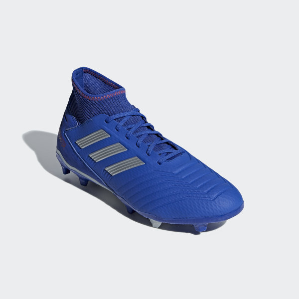 Botines Predator 19.3 Terreno Firme Bold Blue   Silver Met.   Active Red  BB8112 4041b1d22652a