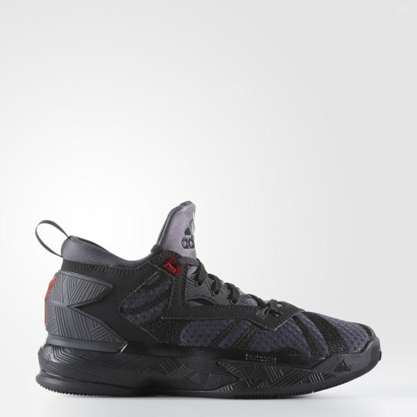 D Lillard 2.0 Shoes Core Black   Utility Black   Vivid Red B72855 3c3655a9d7