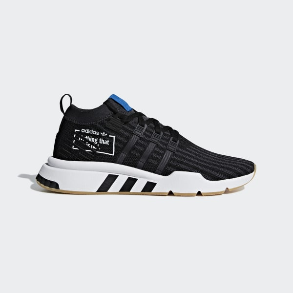 uk availability 3b608 ad3d3 EQT Support Mid ADV Shoes Core Black  Core Black  Bluebird B37413