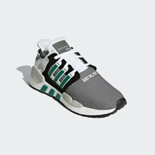new arrival 7afe5 613c6 EQT Support 9118 Shoes Core Black  Clear Granite  Sub Green AQ1037