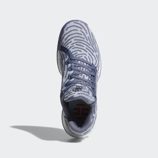 7251b68161c8 Harden Vol. 1 LS Primeknit Shoes Raw Steel Ash Grey Hi-Res