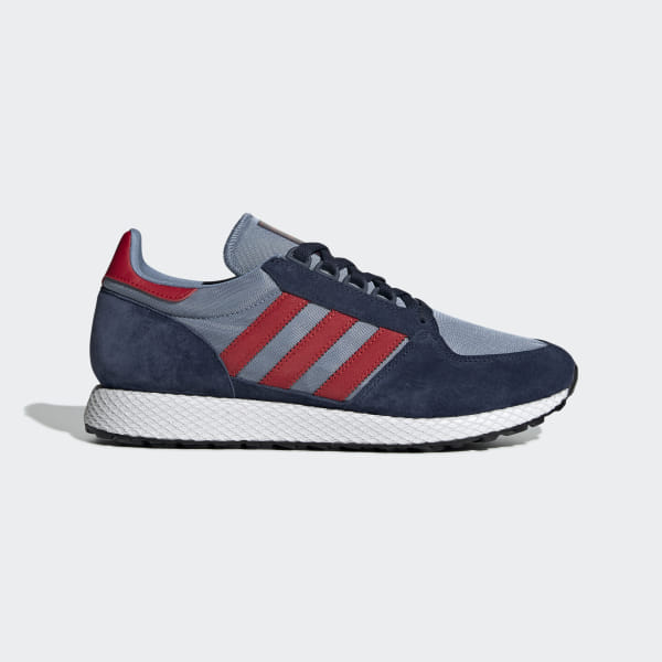 premium selection 06d87 8c96e Forest Grove Shoes Collegiate Navy   Collegiate Red   Tactile Blue DB3531