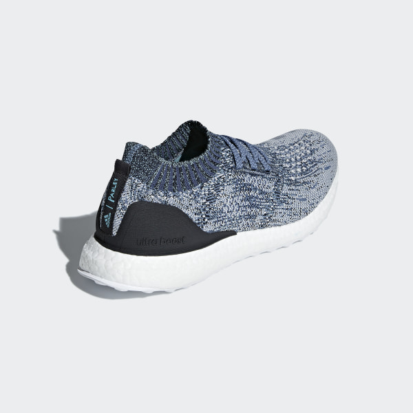 2103c6e9b5fc0 Ultraboost Uncaged Parley Shoes Raw Grey   Chalk Pearl   Blue Spirit AC7590