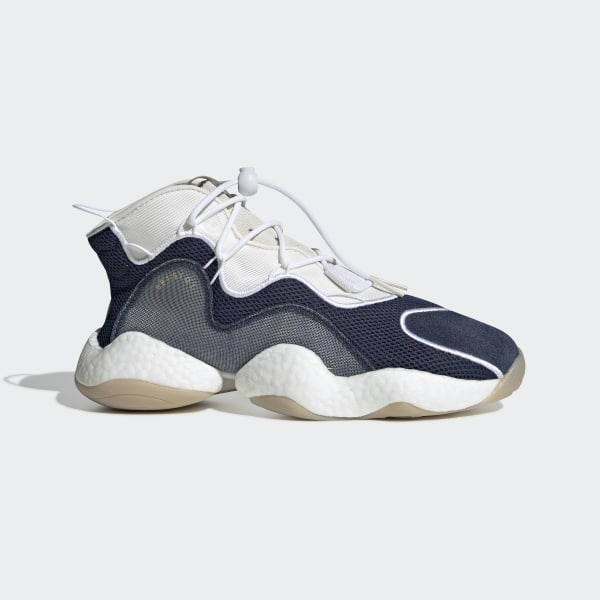 ee525813e0dc BRISTOL CRAZY BYW LVL I SHOES Collegiate Navy   Cloud White   Ftwr White  BB7669