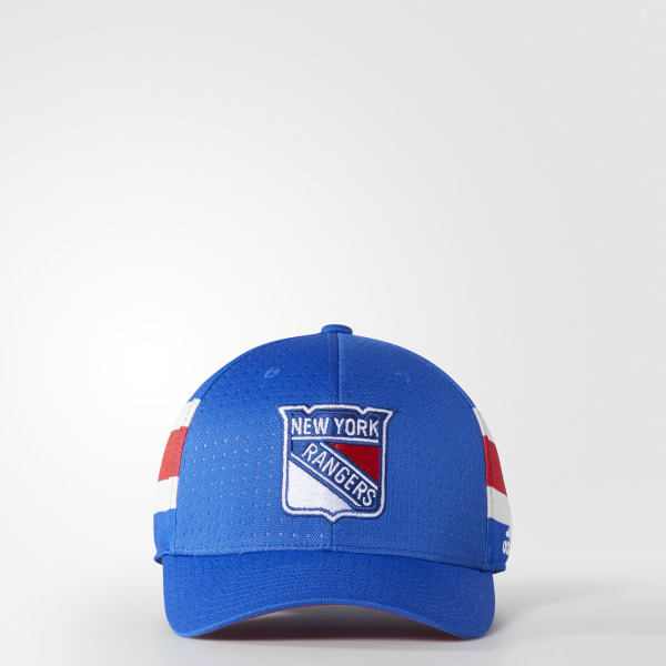 c6ece26d100 adidas Rangers Structured Flex Draft Hat - Blue