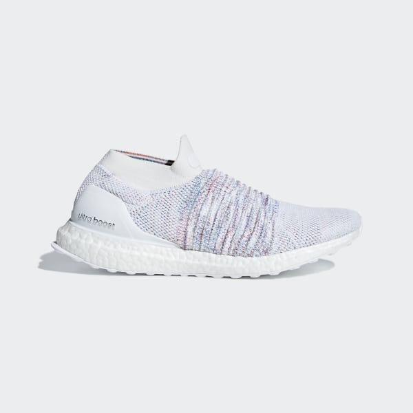 big sale f60cd 69223 Scarpe Ultraboost Laceless Ftwr White  Active Red  Active Green B37686