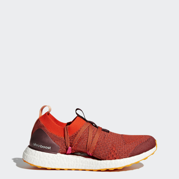 386dfcba1 ULTRABOOST X Shoes Clay Red   Radiant Orange   Apricot Rose CG3686