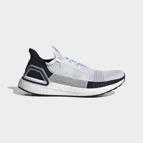 dc47ececcae Sapatos Ultraboost 19 Ftwr White   Ftwr White   Grey Two B37707