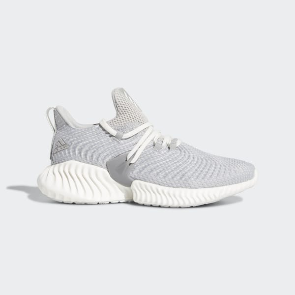 630b3d4f0 Alphabounce Instinct Shoes Grey Two   Running White   Grey Three F36732