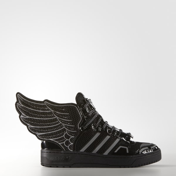 sports shoes 9830a 58949 JS WINGS 2.0 MESH BLACK WHITE S77802