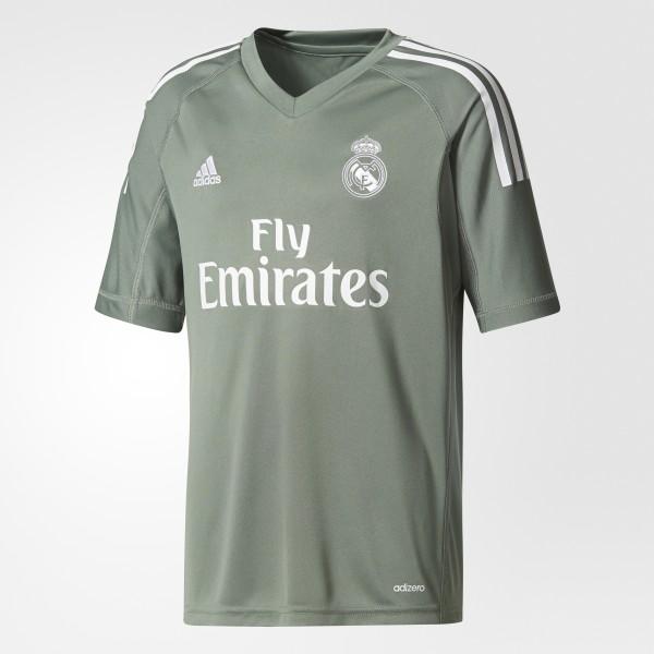 5045ca81c5f8b Camiseta portero primera equipación Real Madrid Trace Green   White B31102