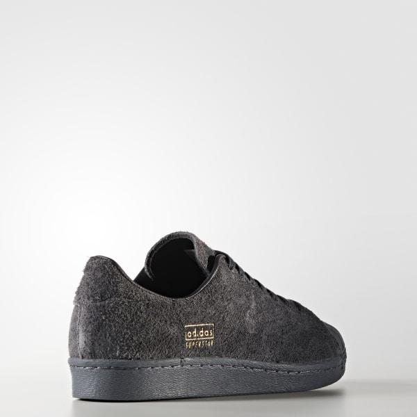 huge selection of 45f61 d017d Superstar 80s Clean Shoes Utility Black  Utility Black  Grey BZ0566