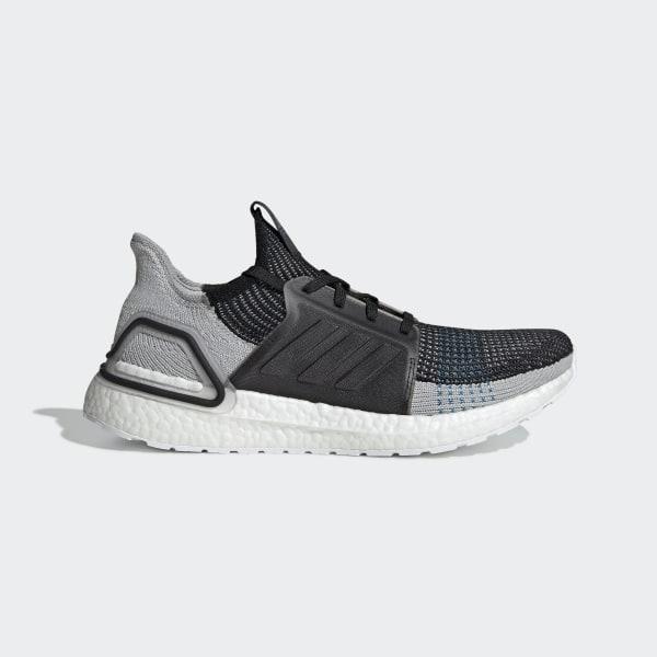 7130af643f3 Ultraboost 19 Shoes Core Black   Grey Six   Shock Cyan F35242