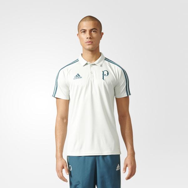 Camisa Polo Viagem Palmeiras LINEN GREEN  MYSTERY GREEN AZ9945 186ce53bbfc24
