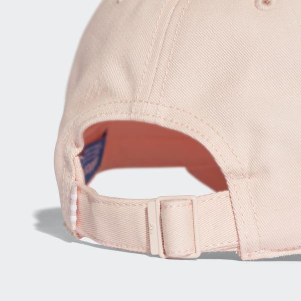 67cbc463e33 Trefoil Classic Cap Blush Pink White CV8143