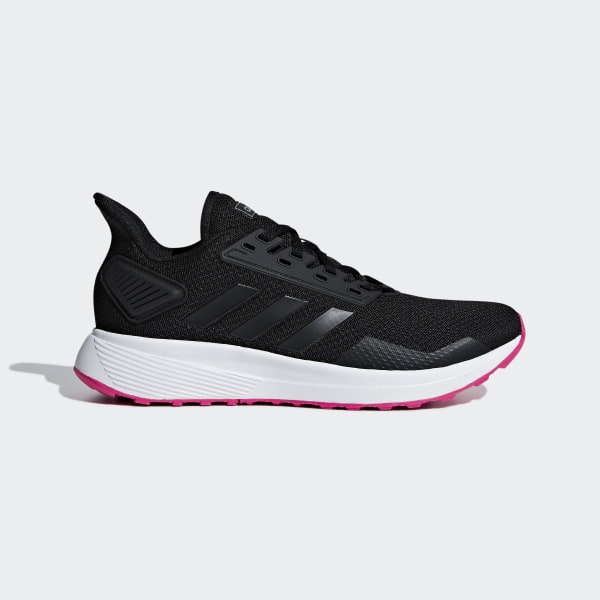38334e2c033c66 Duramo 9 Shoes Core Black   Core Black   Shock Pink F34665